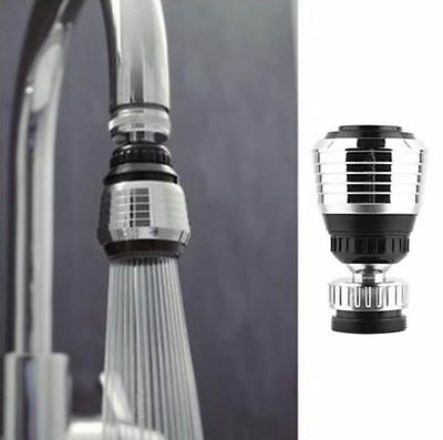 AGS Tap Faucet Aerator 360° Swivel Adjustable Nozzle Water Saver Diffuser Kit
