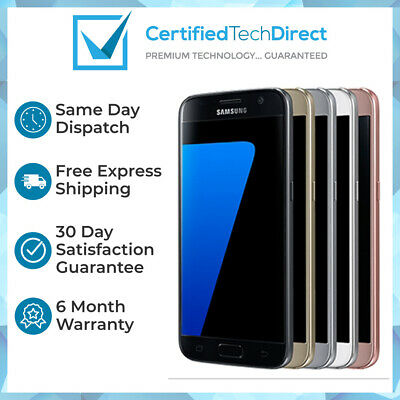 Samsung Galaxy S7 G930F 32GB 64GB All Colours Refurbished 6 Month Warranty