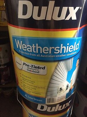 Dulux Weather Shield Pre Tinted Low Sheen Surf Mist 10L