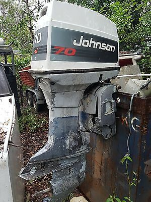 Evinrude Johnson Omc 60Hp 70Hp Outboard For Wrecking