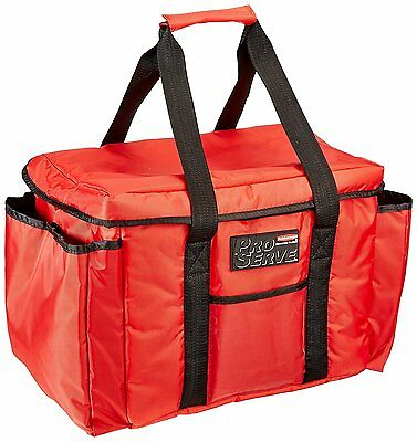 Rubbermaid Commercial ProServe Insulated Sandwich Delivery Bag, Red, FG9F4000RED