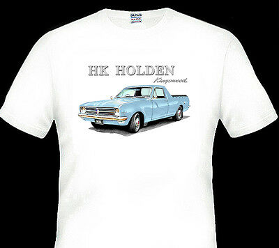 68'  Hk  Holden   Ute    186  Kingswood    Quality  White  Tshirt