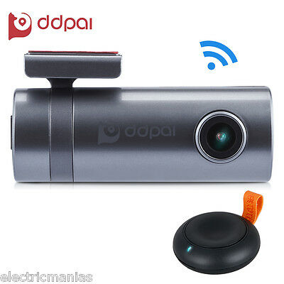 DDpai HD 1440P Wifi Car DVR Camera Video Recorder Dash Cam G-Sensor Night Vision
