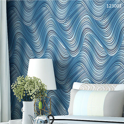 Creative Fine Decor 3D Stereoscopic Bedroom Patterned Wallpaper Borders 3571HC