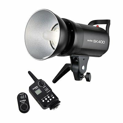 AU Godox SK400 400Ws Studio Strobe Flash Light Bowens + FT-16 Wireless Trigger