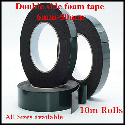 Super Strong Double Sided Permanent Self Adhesive Foam Car Trim Body Tape