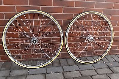 1980s wheels clincher MAVIC 500/550 hubs RIGIDA RACING 700C HLC2000 rims