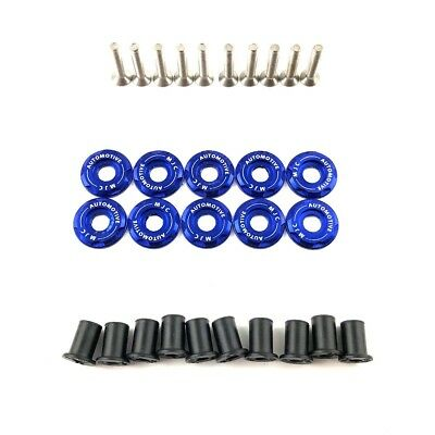 MJC Automotive Grill And Slam Panel Set Civic FN2 Type R Blue Fender Washers