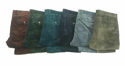 Mens Ex M&S Cotton Rich Corduroy Trousers with Stormwear **SECONDS**RRP £40 MS31