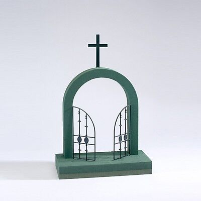 OASIS® FOAM FRAMES® GATES OF HEAVEN - Floral Funeral Tribute Flowers Florist Wet