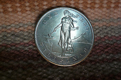 Philippines  One Peso 1907 S - Silver