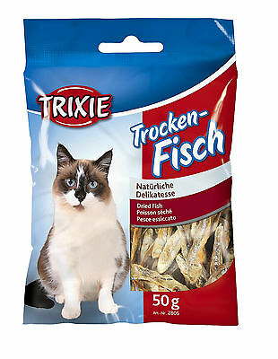 Cat Treat Dried Fish Anchovies 50g pack