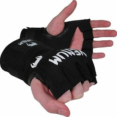Venum Kontact Gel Wrap Adult Hand Wraps Black Mma
