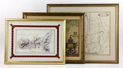 Three Old World Maps Lot 8111
