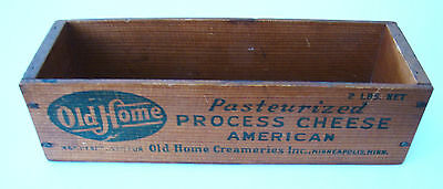 Old Home 2 lb. wooden cheese box