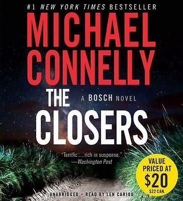 THE CLOSERS (A Harry Bosch Novel) unabridged audio CD by MICHAEL CONNELLY