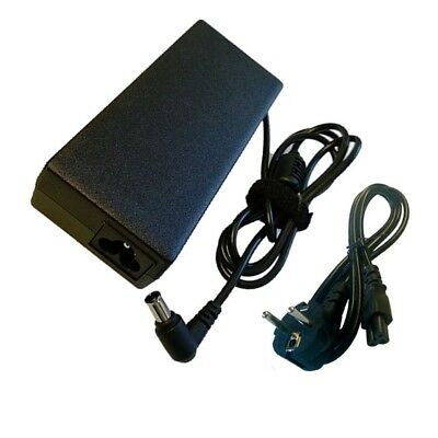 For Sony Vaio Pcg-6R1M Pcg-V505Ac Adapter Charger Psu + Eu Power Cord Dcuk