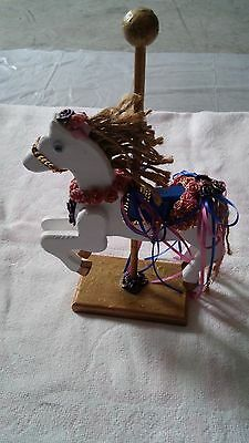 Hand Crafted Wood Carousel Horse
