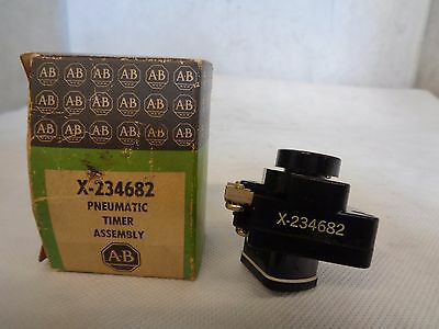 New Allen-Bradley X-234682 Pneumatic Timer Assembly