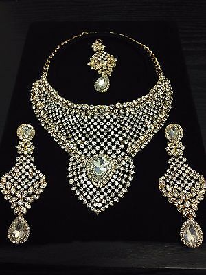 New Indian Bollywood Chocker Necklace set