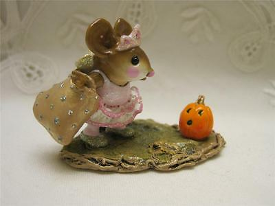 Wee Forest Folk The Halloween Princess -  Retired in WFF Box