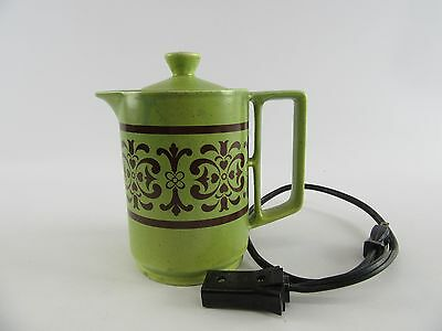 Vintage 70's Maruea Minamiyama Seitoseo Ceramic Electric Tea Pot