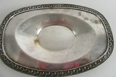 Vintage SHEETS ROCKFORD S Co SILVERPLATE Silver Plate SERVING TRAY Platter 1875