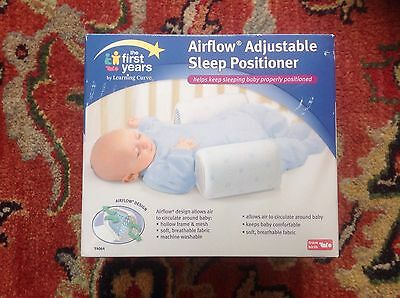 The First Years by Learning Curve, Airflow Adjustable Baby Sleep Positioner