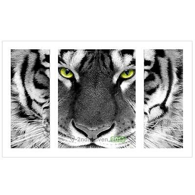 Full Drill Tiger DIY 5D Diamond Embroidery Painting Cross Stitch Kit Craft Home