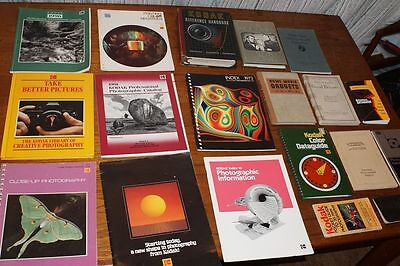 Collection of Vintage Camera Books & Catalogs