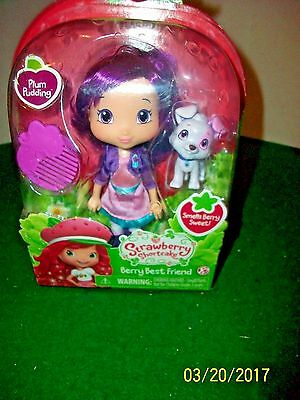 2015 Strawberry Shortcake Berry Best Friends Plum Pudding New in Box