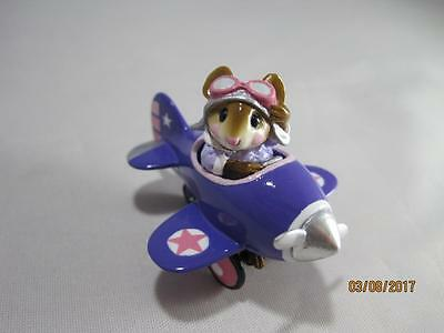 Wee Forest Folk Pedal Plane - Expo Purple - In WFF Box