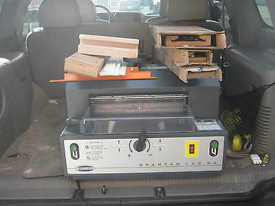 "Challenge Spartan 150SA Paper Cutter 15"" UNTESTED But Powers On Being SOLD AS IS"