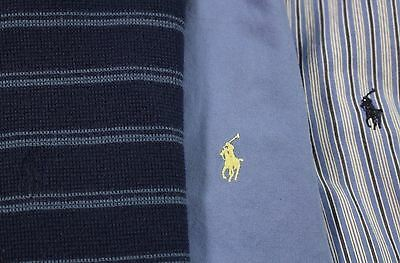 Men's Large Ralph Lauren L/S Shirt Lot of Three (3)