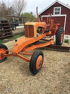 allis chalmers W road grader tractor