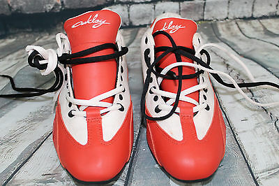 Oakley Racing Driver Shoe red and white Womens Size 8.5