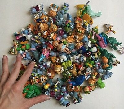 Kinder Toys LOT of Random Plastic Toys from Surprise Eggs Capsules