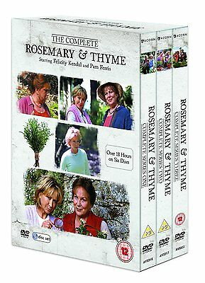 Rosemary and Thyme Complete Series 1 to 3 Box Set: New DVD