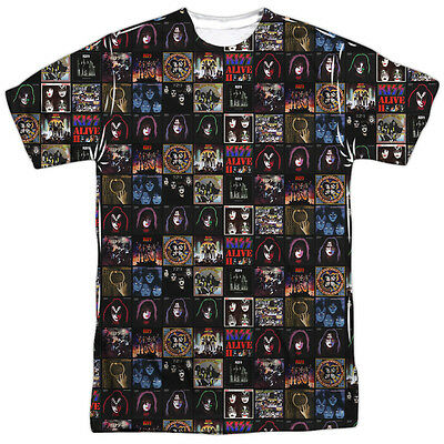 Yes Rock Band FRAGILE Album Cover 1-Sided Sublimated Print Poly Cotton T-Shirt