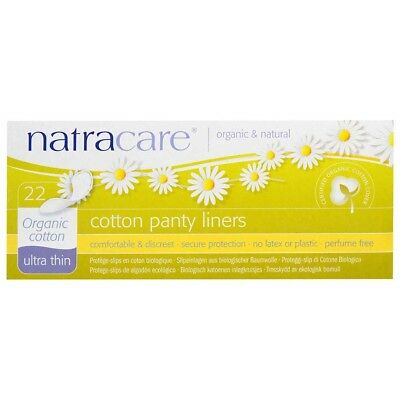 Natracare Organic Panty Liners - Ultra Thin (22 pack) | BRAND NEW