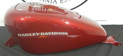 Harley Davidson Xl 883 Sportster  Carbie Fuel Tank  Brand New Fire Red 04-06