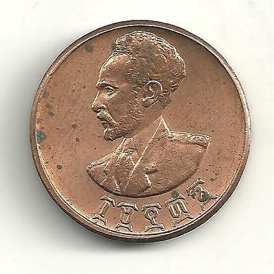 Very Nicely Detailed High Grade Unc 1936 1944 Ethiopia One 1 Cent Coin-Ag259