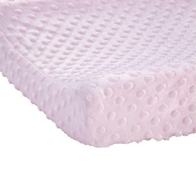 Carter's Bubble Dot Changing Pad Cover - Pink