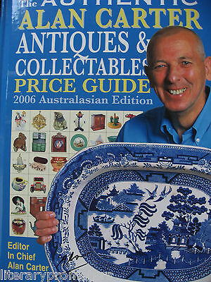 Authentic Alan Carter Antiques And Collectables Price Guide New 2006