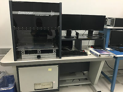 Sonoscan C-Sam Scanning Acoustic Microscope Series D-6000