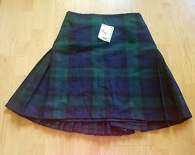 NWT Authentic Scottish Highland Men's Traditional Woven Tartan KILT size 38/40