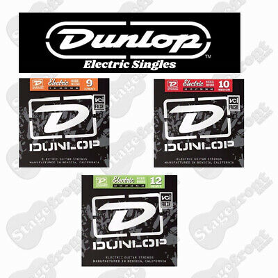 Single Dunlop Electric Nickel Guitar Strings Various Sizes
