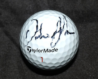 DUSTIN JOHNSON Hand Signed TAYLORMADE GOLF BALL w/ PROOF northern trust open pga