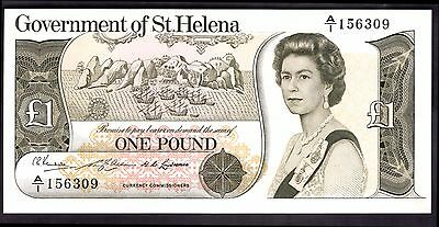 St Helena. One Pound, A/1 156309, (1976), Very Fine-Extremely Fine.