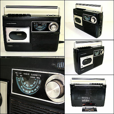 National Panasonic RQ-516S Radio Cassette Boombox